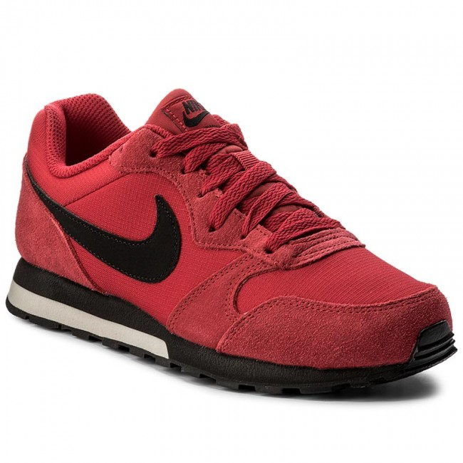 1c56b31038b18 Shoes NIKE - Md Runner 2 (GS) 807316 603 Gym Red Black Cobblestone ...
