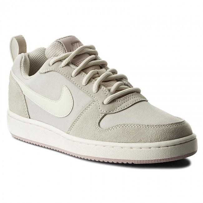 Shoes NIKE. Court Borough Low Prem 861533 101 Lt Orewood Brn Sail-Silt Red f1098712b6cc8