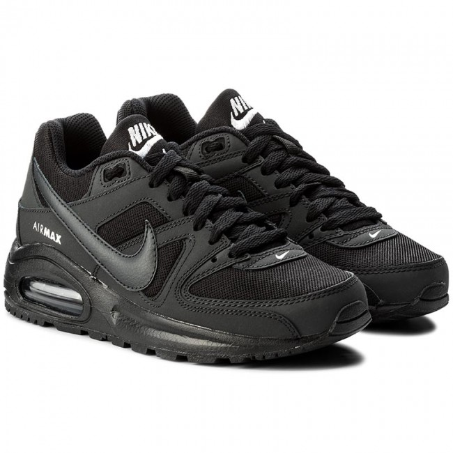 f46beee5edf7a Shoes NIKE - Air Max Command Flex (GS) 844346 002 Black Anthracite White -  Sneakers - Low shoes - Women s shoes - www.efootwear.eu