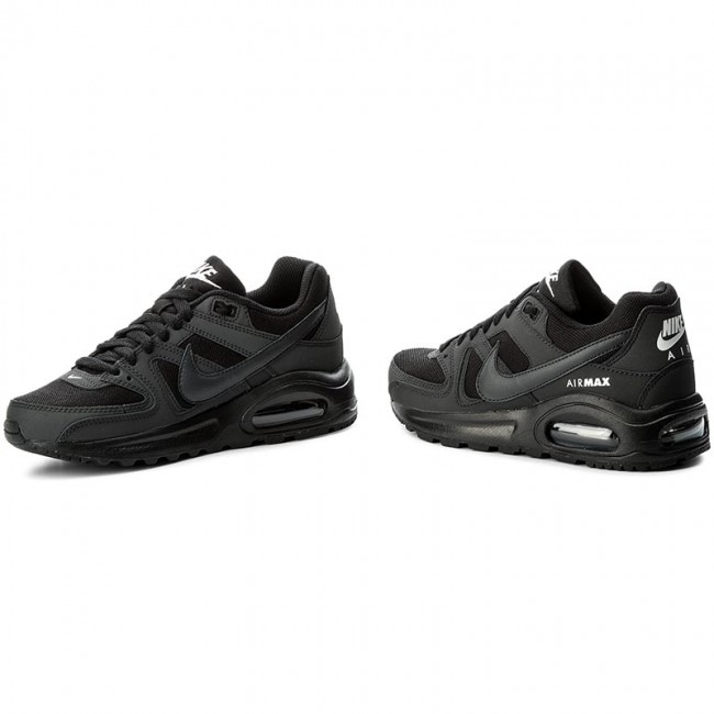 low priced 672a8 3dcb6 Shoes NIKE - Air Max Command Flex (GS) 844346 002 Black Anthracite