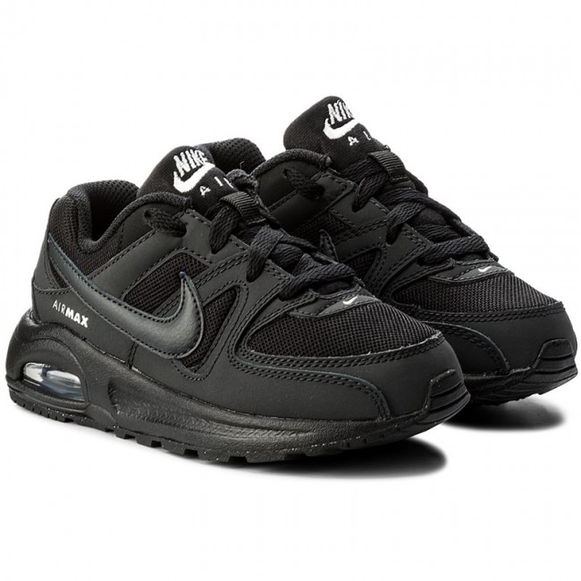 Shoes NIKE - Air Max Command Flex (PS) 844347 002 Black Anthracite White -  Laced shoes - Low shoes - Girl - Kids  shoes - www.efootwear.eu e70cf84f34b