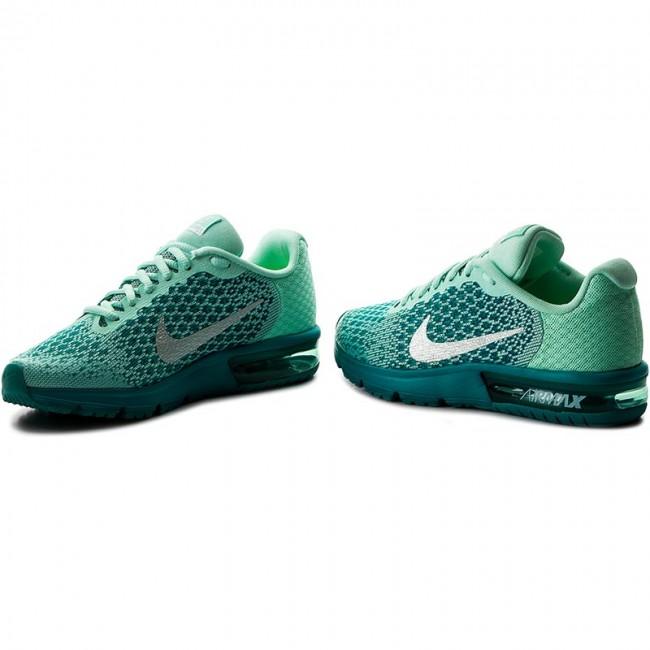 le scarpe nike air max successive 2 (gs) 869994 301 mint schiuma / metallico.