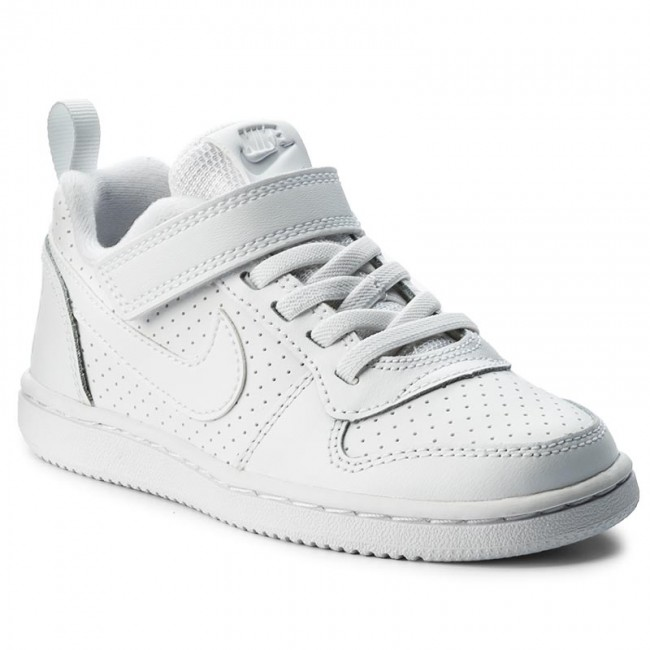 Shoes NIKE - Court Borough Low 870025 100 White/White