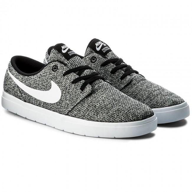 6fd0ed8389e2e9 Shoes NIKE - Sb Portmore II Ultralight 880271 012 Black White Wolf Grey -  Sneakers - Low shoes - Men s shoes - www.efootwear.eu