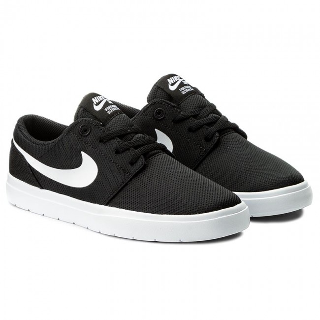 Nowy Jork uroczy Nowe Produkty Shoes NIKE - Portmore II Ultralight (GS) 905211 001 Black/White