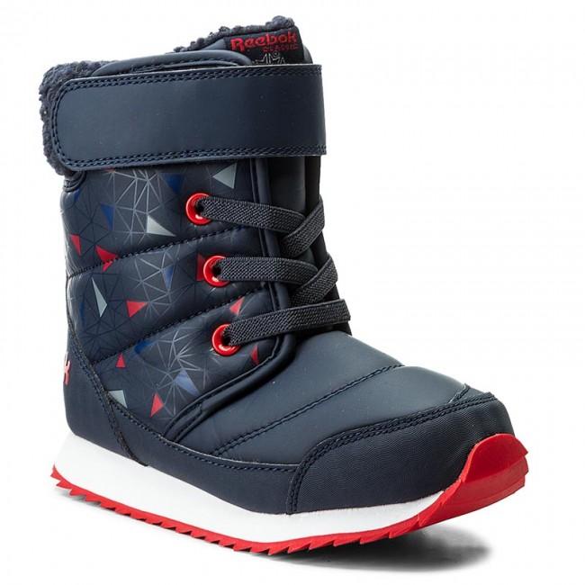 af133d41373 Snow Boots Reebok - Snow Prime BS7778 Navy Cobalt Dust Red - Trekker ...