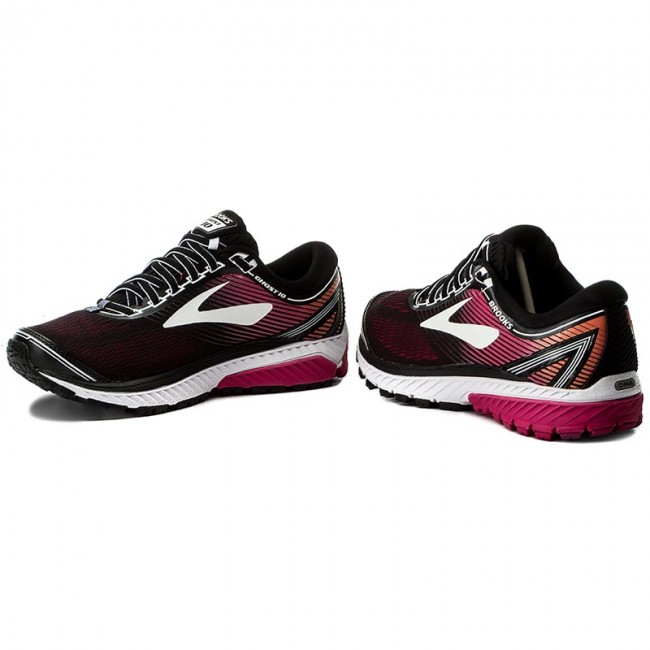d3b277ed3c20b Shoes BROOKS - Ghost 10 120246 1D 067 Black Pink Peacock Living Coral