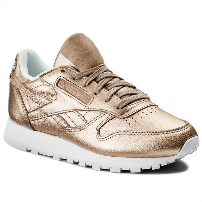 ccbdcdeba5ff7 Shoes Reebok - Cl Lthr Melted Metal BS7897 Pearl Met Peach White ...