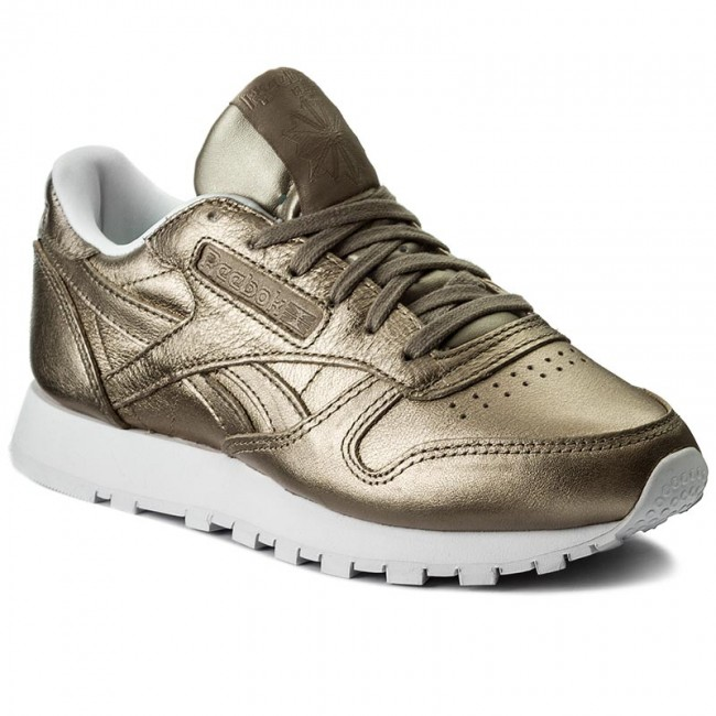 5e7c67c92d5f0 Shoes Reebok - Cl Lthr Melted Metal BS7898 Pearl Met Grey Gold White ...
