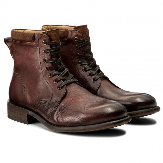 Aldo Derrian Leather Lace Up Boots In JHrstq8f2