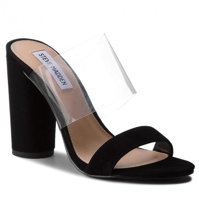 ffab9600f355 Slides STEVE MADDEN - Cheers Sandal 91000917-10003-01001 Black ...
