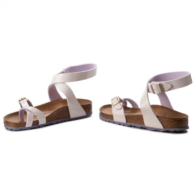 5d17e0b5478f Sandals BIRKENSTOCK - Yara 1008112 Two Tone Cream Pink - Casual ...