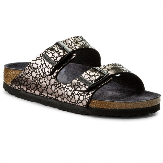 Birkenstock ARIZONA - Mules - metallic stones black