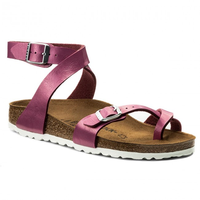 437717be8d21 Slides BIRKENSTOCK - Yara 1008847 Graceful Magenta Haze - Flip-flops ...