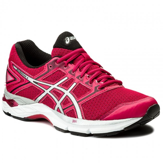 Asics Gel Phoenix 8 Cosmo Pink Silver Womems Running Shoes T6F7N 2093