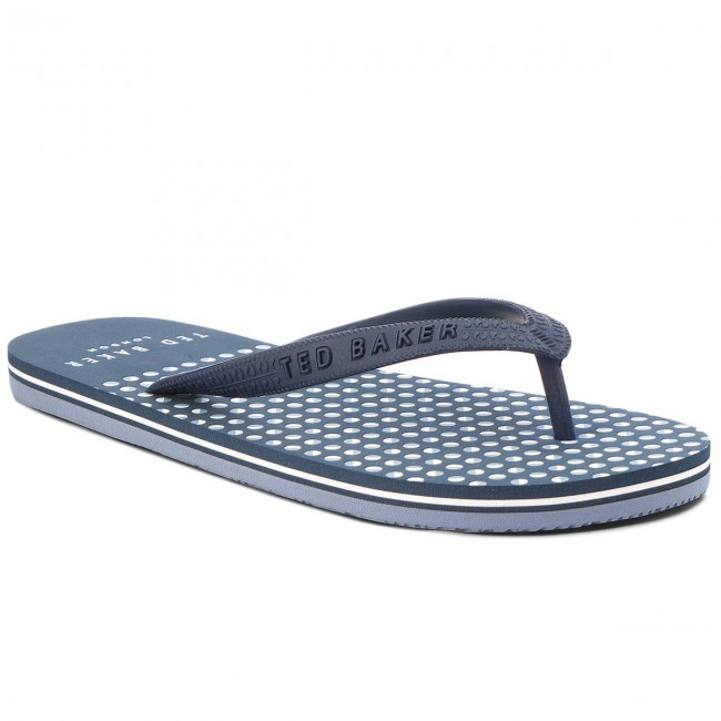 bed1cf457c1c Slides TED BAKER - Flyxx 5 9-17079 Dk Blue - Flip-flops - Mules and ...