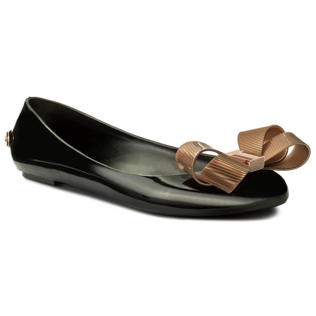 88f9f6443f209 Flats TED BAKER - Larmiar 9-16877 Black - Ballerina shoes - Low ...