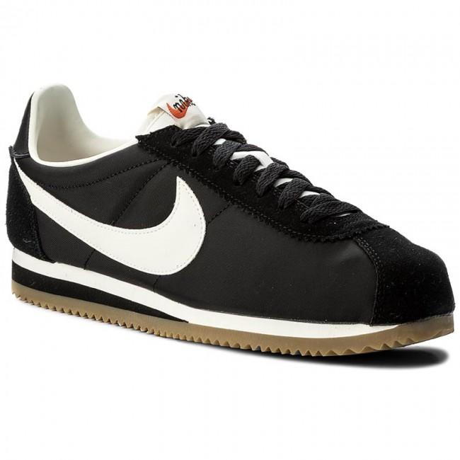 sale retailer f5a2c 25885 Shoes NIKE. Classic Cortez Nylon Prem 876873 002 Black Sail Gum ...