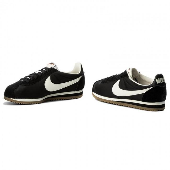 new product 9025d 57d86 Shoes NIKE - Classic Cortez Nylon Prem 876873 002 Black Sail Gum Light Brown