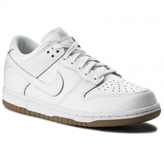 buy popular d6399 f623e Shoes NIKE - Dunk Low 311369 100 WhiteWhitePure Platinum