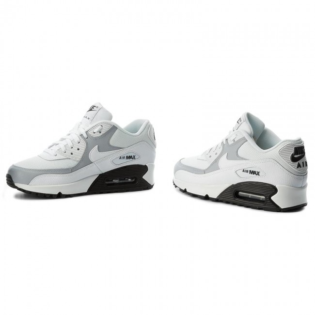 3eb2bedf0a Shoes NIKE - Wmns Air Max 90 325213 126 White/White/Wolf Grey/Black ...
