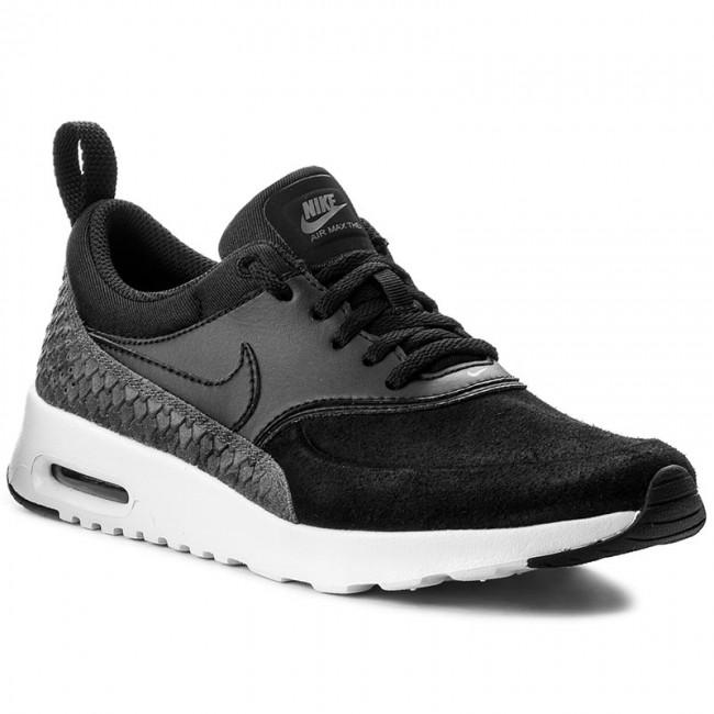 51b0260c32e4 Shoes NIKE - Air Max Thea Prm 616723 019 Black Black Sail Dark Grey ...