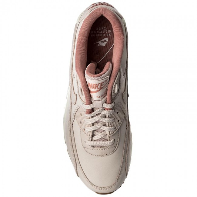 697d33a5d582 Shoes NIKE - Wmns Air Max 90 Lea 921304 600 Silt Red Silt Red Red Stardust  - Sneakers - Low shoes - Women s shoes - www.efootwear.eu
