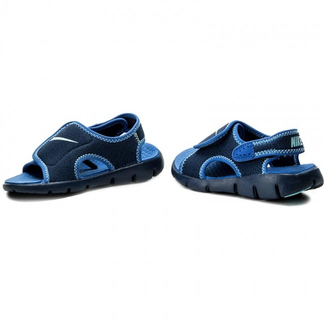 best loved d7be0 4981f Sandals NIKE - Sunray Adjust 4 (GS PS) 386518 413 Binary Blue