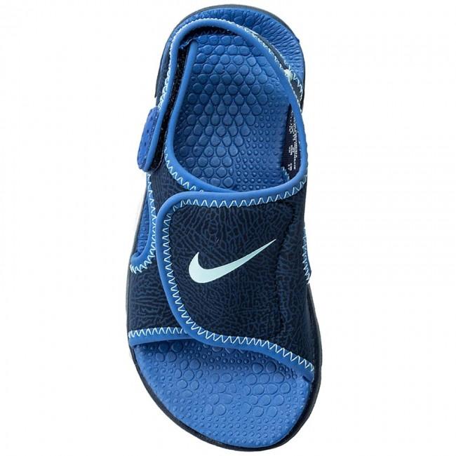 new product 9d23a f6ca2 Sandals NIKE - Sunray Adjust 4 (GS PS) 386518 413 Binary Blue Still Blue -  Sandals - Clogs and sandals - Boy - Kids  shoes - www.efootwear.eu