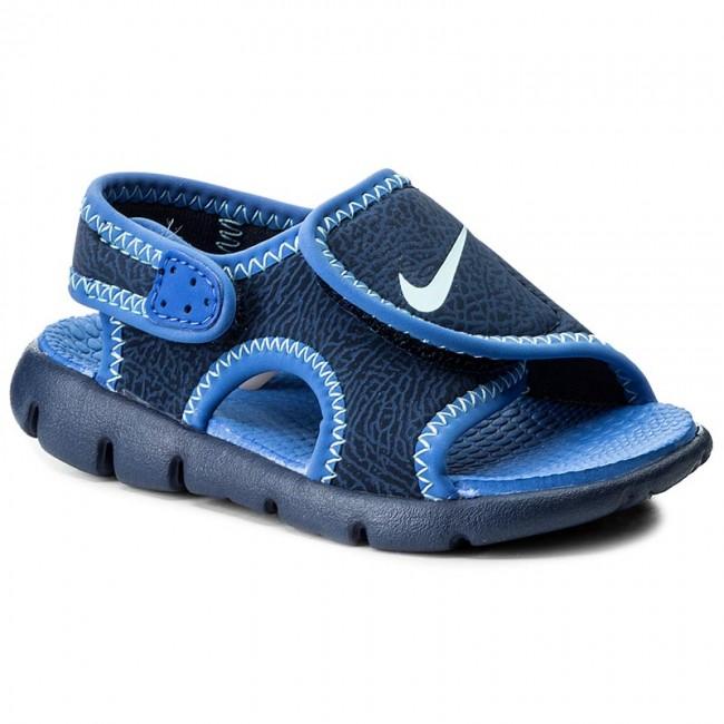 e5597a99a062 Sandals NIKE - Sunray Adjust 4 (TD) 386519 413 Binary Blue Still ...