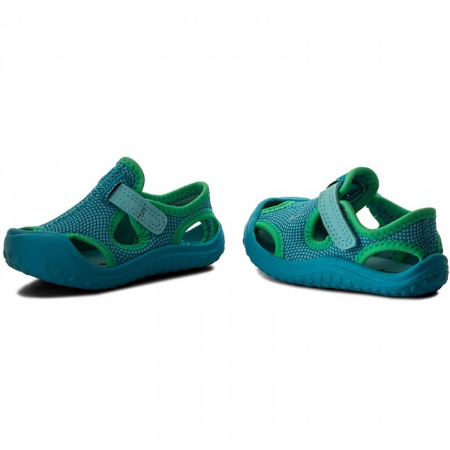 be3a42068d49 Sandals NIKE - Sunray Protect (TD) 903634 400 Still Blue Chlorine Blue