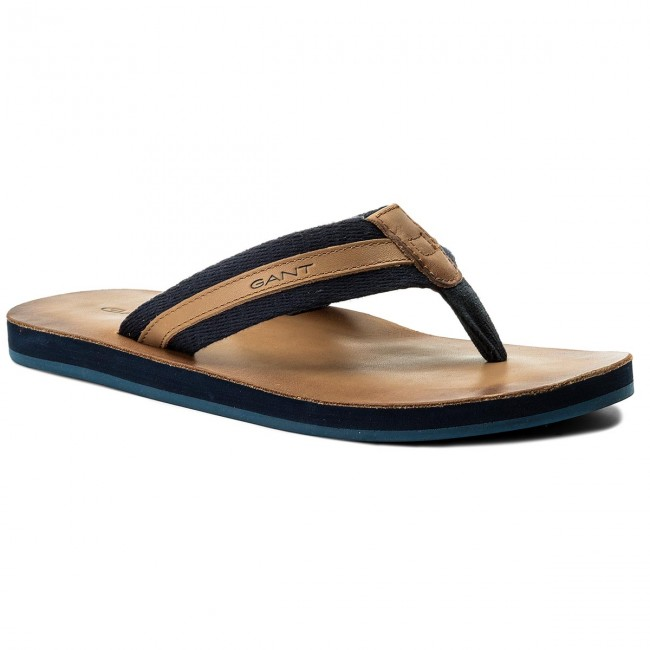 2e42fe690ce4b3 Slides GANT - Breeze 16608405 Navy Blue G65 - Flip-flops - Mules and ...