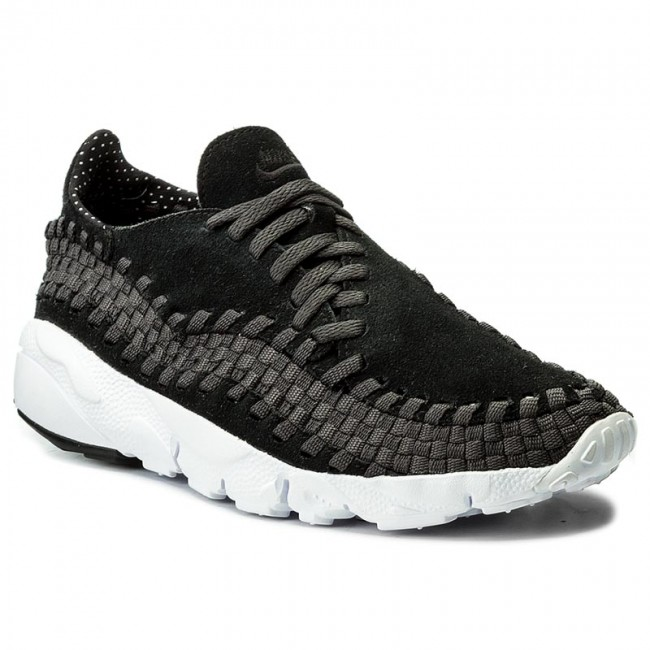 timeless design f77e6 695d2 Shoes NIKE. Air Footscape Woven Nm 875797 001 Black Black Anthracite White