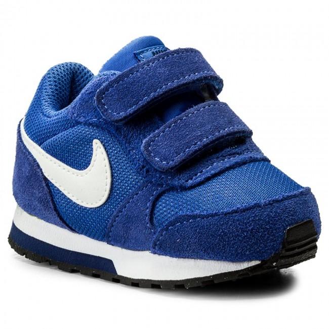 Shoes NIKE - Md Runner 2 (TDV) 806255 406 Comet Blue White Binary ... ad887d7c941