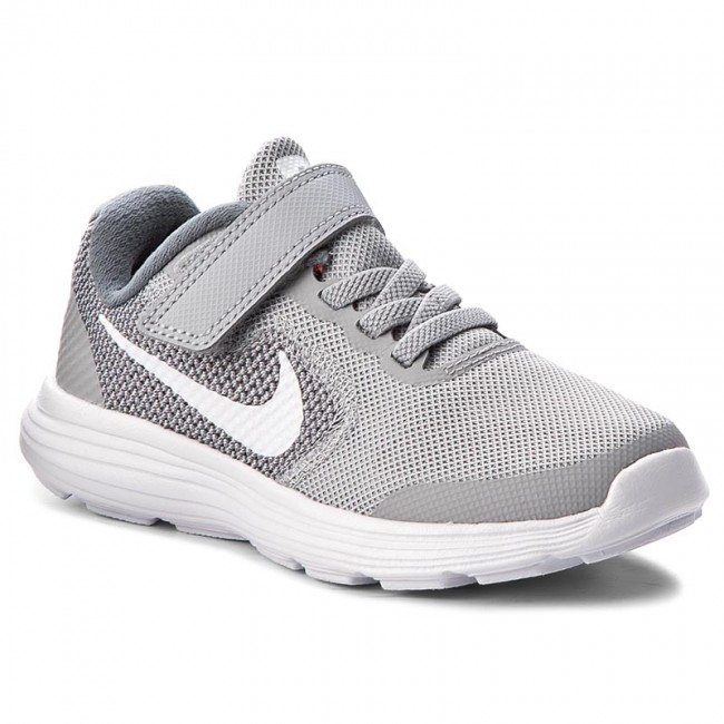 2b68f38a072 Shoes NIKE - Revolution 3 (Psv) 819414 008 Wolf Grey White Cool Grey ...