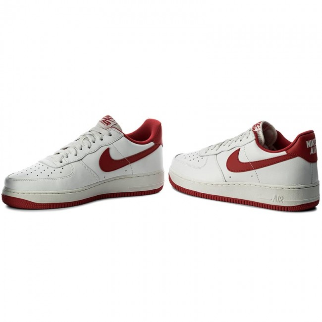 competitive price ae4c8 e8fe2 Shoes NIKE - Air Force 1 Low Retro 845053 100 Summit White University Red