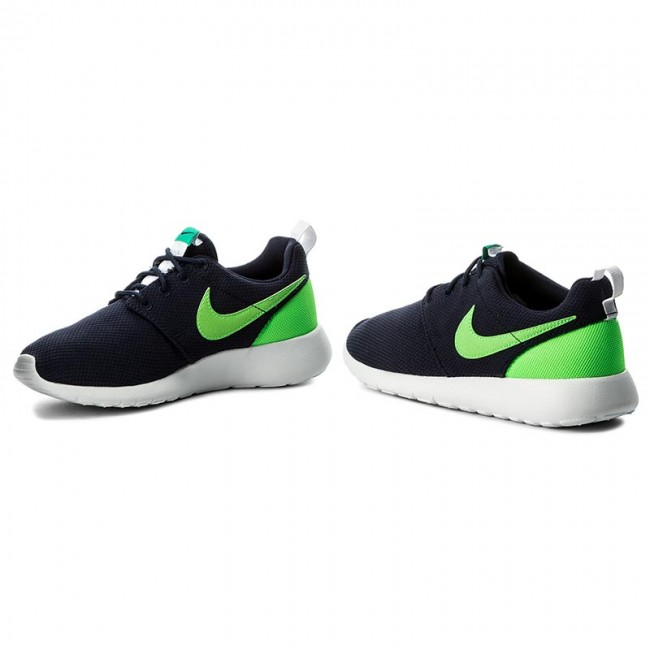 free shipping ccbff 459f8 Shoes NIKE - Roshe One (GS) 599728 413 ObsidianLtg GrnLcd