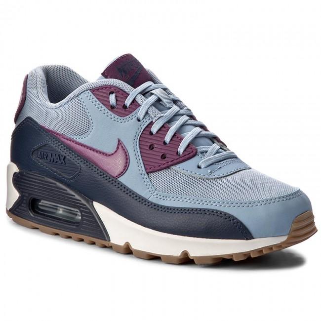 quality design 197e8 68e21 Shoes NIKE. Wmns Air Max 90 Essential 616730 403 Blue Grey Bright Grape