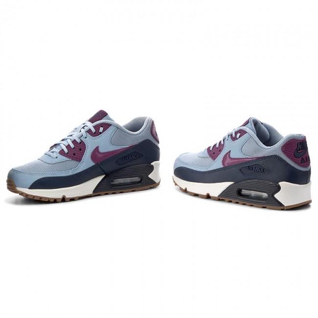 buy popular 81670 6237e Shoes NIKE - Wmns Air Max 90 Essential 616730 403 Blue Grey Bright Grape
