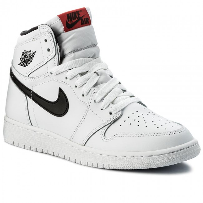 4cef66be59e8 Shoes NIKE - Air Jordan 1 Retro High OG BG 575441 102 White Black White