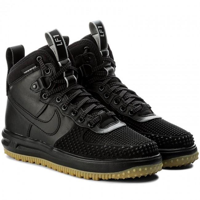 Shoes NIKE - Lunar Force 1 Duckboot 805899 003 Black Black Metallic  Silver An - Sneakers - Low shoes - Men s shoes - www.efootwear.eu dc35ca717b