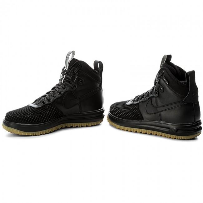 Shoes NIKE - Lunar Force 1 Duckboot 805899 003 Black Black Metallic Silver  4fa9093d19