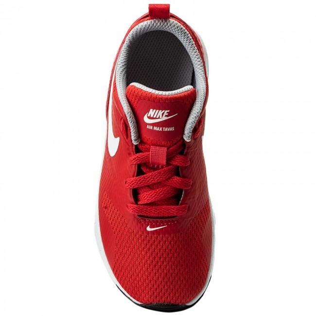 Rojo Air Max Tavas (PS) 844104 603 Track RedWhiteWolf Grey