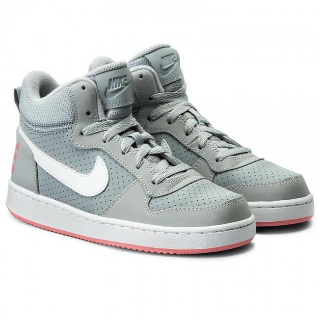 Details zu NIKE Kinder Sport Freizeit Basketball Schuhe COURT BOROUGH MID Boots 845107 Neu