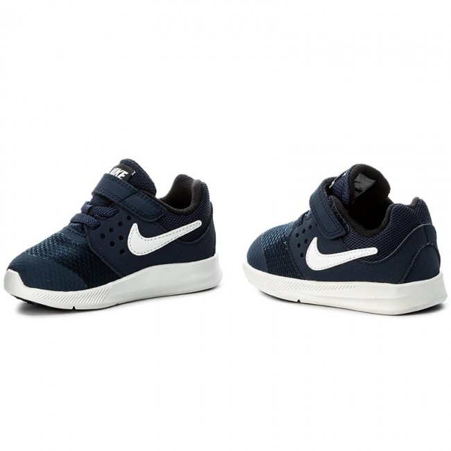 af1c39557303 Shoes NIKE - Downshifter 7 (Tdv) 869974 400 Midnight Navy White ...