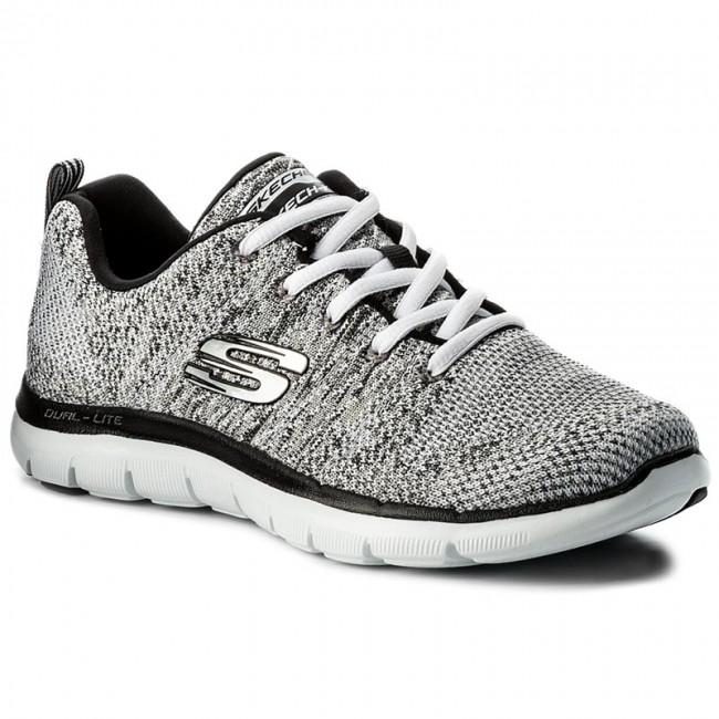 White Black 12756wbk Energy Shoes Skechers High Fitness xXnwxzZ