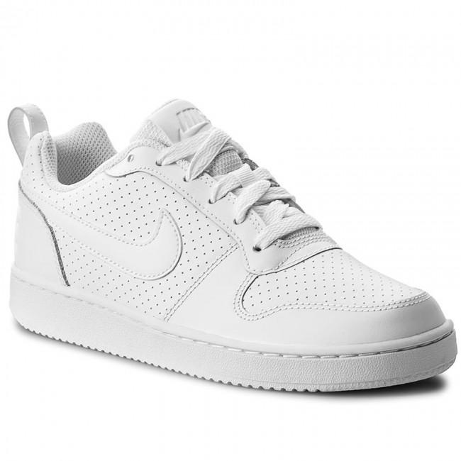 half off 5d9e1 efaae Shoes NIKE - Court Borough Low 844905 110 White/White/White ...