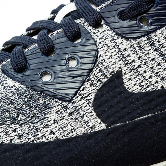 sports shoes 569a9 a4f4e Shoes NIKE - W Air Max 90 Ultra 2.0 Flyknit 881109 400 College Navy College