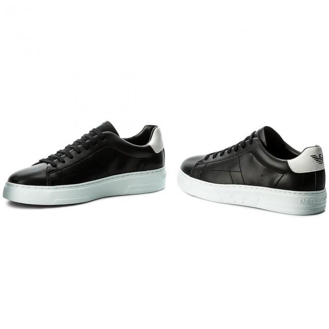 b5a2b2c3c65a Sneakers EMPORIO ARMANI - X4X226 XL193 A120 Black Optical White ...