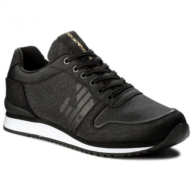 c371dedef611 Sneakers EMPORIO ARMANI - X4X223 XL201 A792 Black Black Black ...